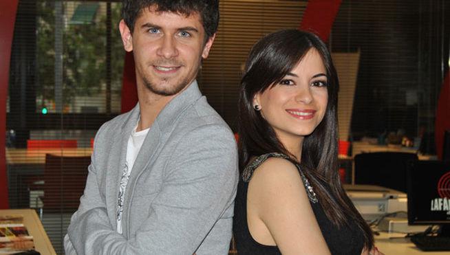 Mateo Sánchez y Verónica Rama
